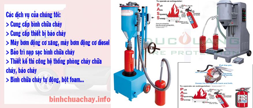 Bảo Trì Bình Chữa Cháy bột & khí Co2
