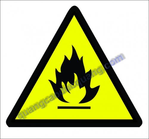 Biển cấm, biển báo, nội quy, tiêu lệnh phòng cháy chữa cháy