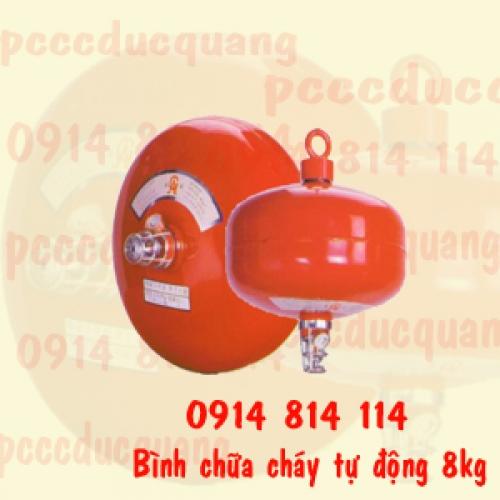 Bình cầu chữa cháy tự động ABC 8kg - XZFTB8