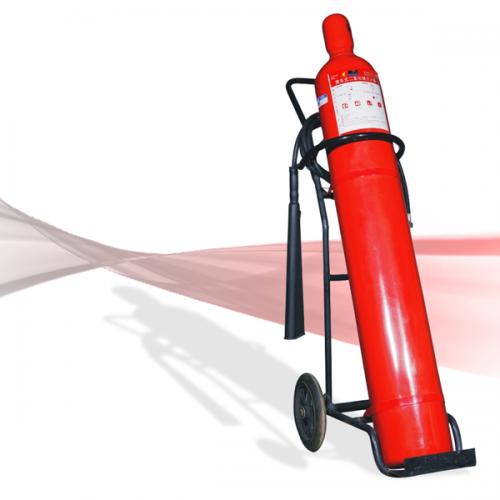 Bình cứu hoả Co2 MT24 - bình xe đẩy