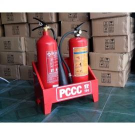 Giá kệ để hai bình chữa cháy