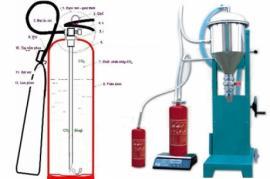 Nạp sạc bảo trì bình bột chữa cháy bột BC và ABC