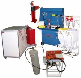 Nạp bột bình chữa cháy MFZ4,MFZ8, MFZ35